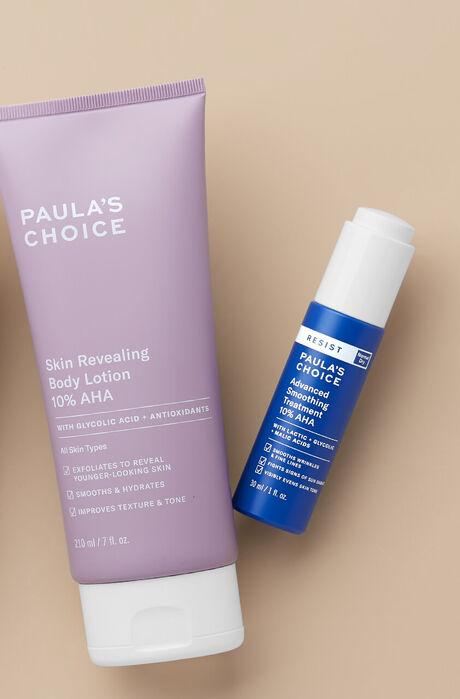 Glat + strålende hud på ansigt og krop