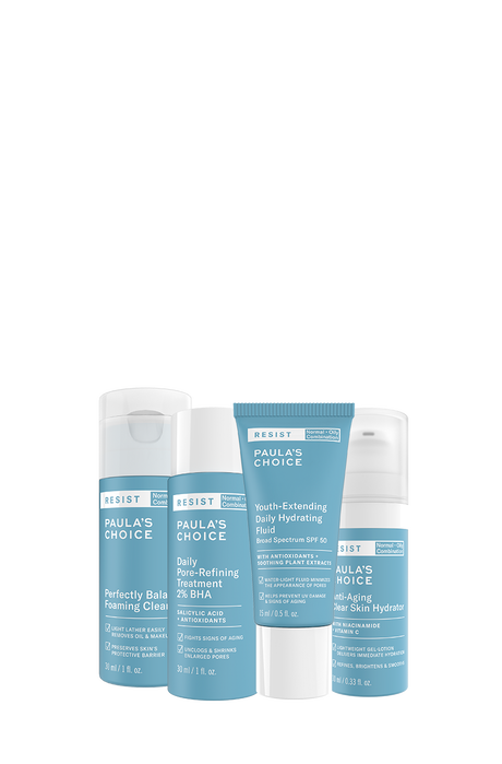 Resist Anti-Aging Combination to Oily skin Trial Kit